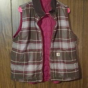 Reversible carhartt vest